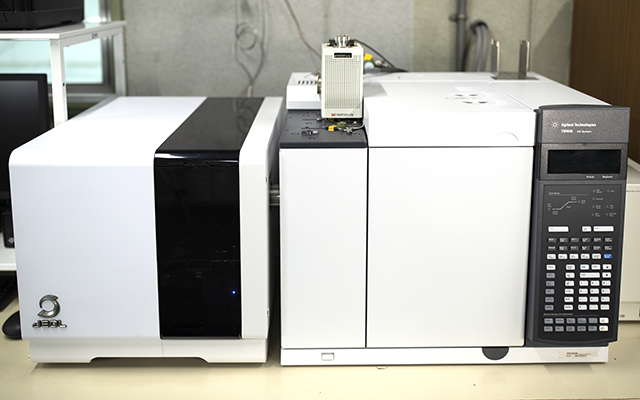 ハニー化成株式会社 技術サポート・導入プロセス・設備 熱分解ガスクロマトグラフMS